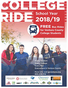 image of flyer for College Ride 2018/19