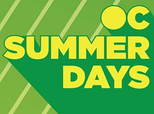 image of flyer for OC Summer Days