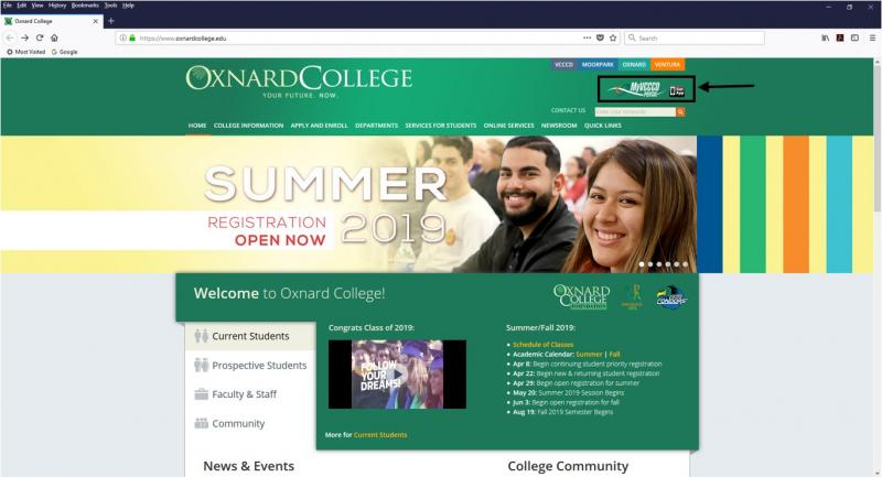 Oxnard College Home Page