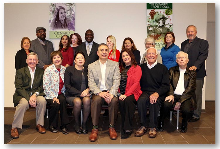 photo of Oxnard College Foundation board members