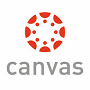 Red Canvas circle logo with red dots and grey canvas written