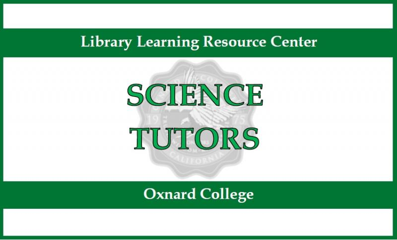 Green sign. Top says Library Learning resource Center. Middl