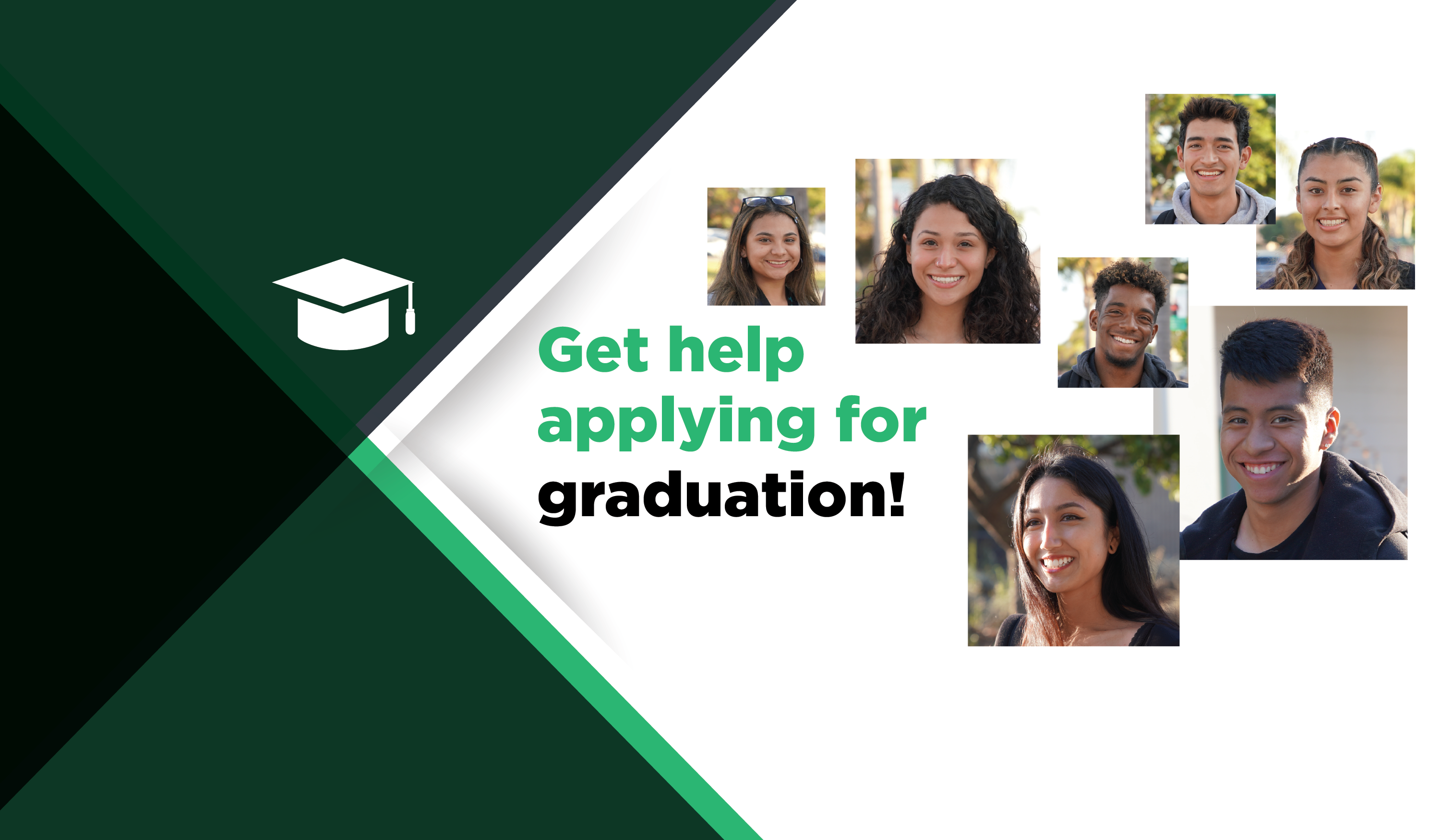 get help applying for graduation