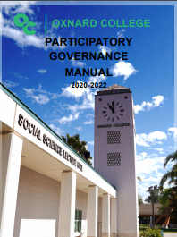 Cover Image of the Oxnard College Participatory Governance Manual