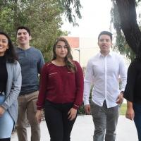 Oxnard College students that will be receiving the TRIO grant.